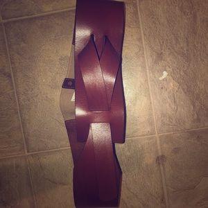 Women's gap belt